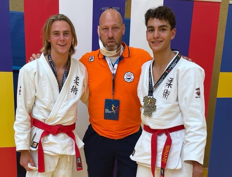 Isaak Weel en Jacob Bos